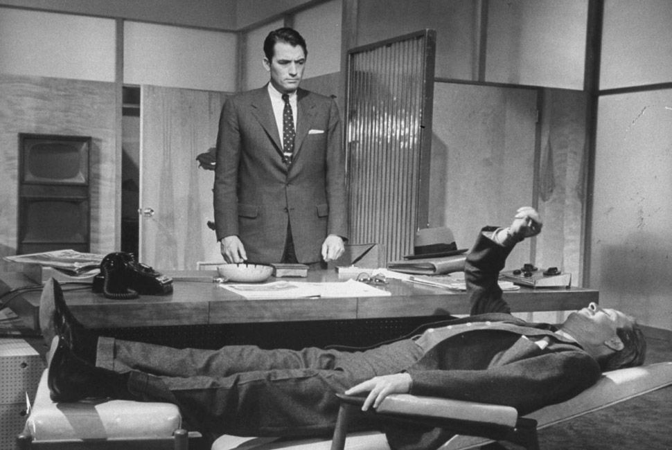 Gregory Peck in The Man In The Grey Flannel Suit