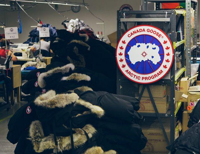 canada goose sale to bain capital