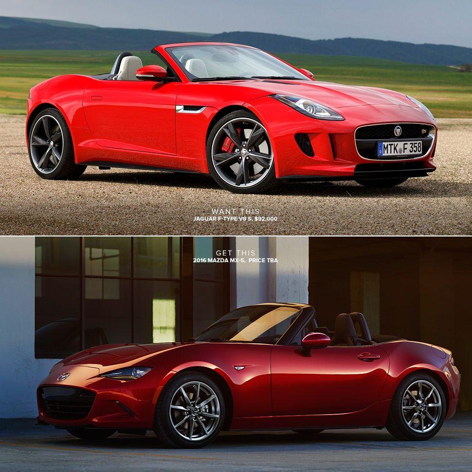 Used Jaguar F Type: Jaguar F-Type V8 S Or Mazda MX-5