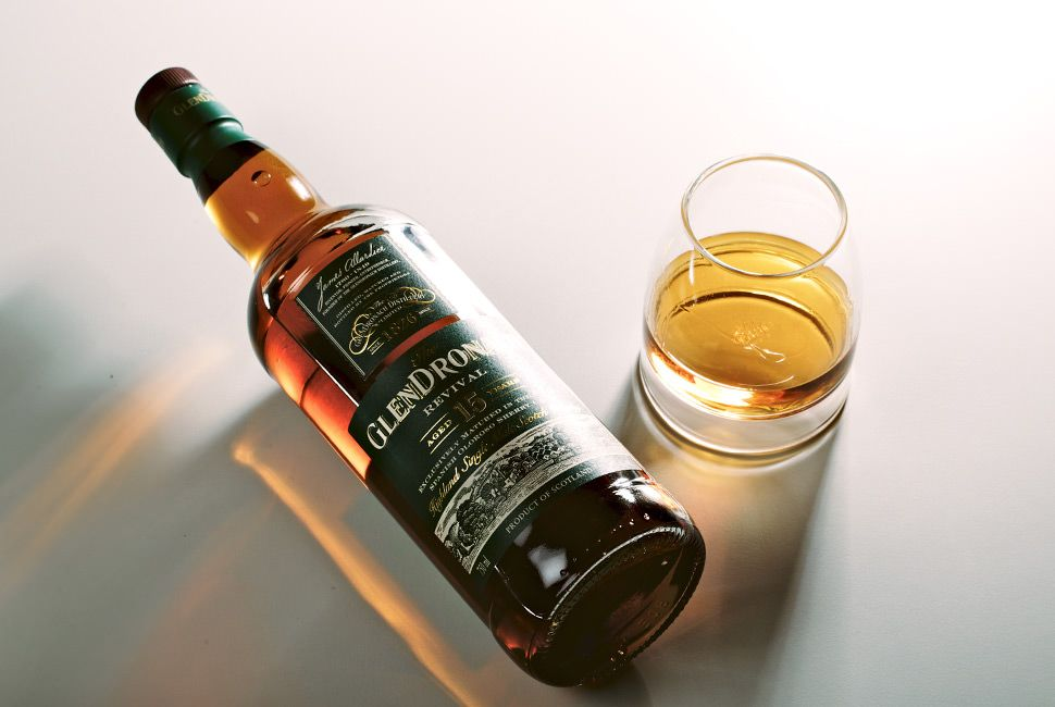 Best Scotch Under 100 GlenDronach 15 Year Old Revival gear-patrol