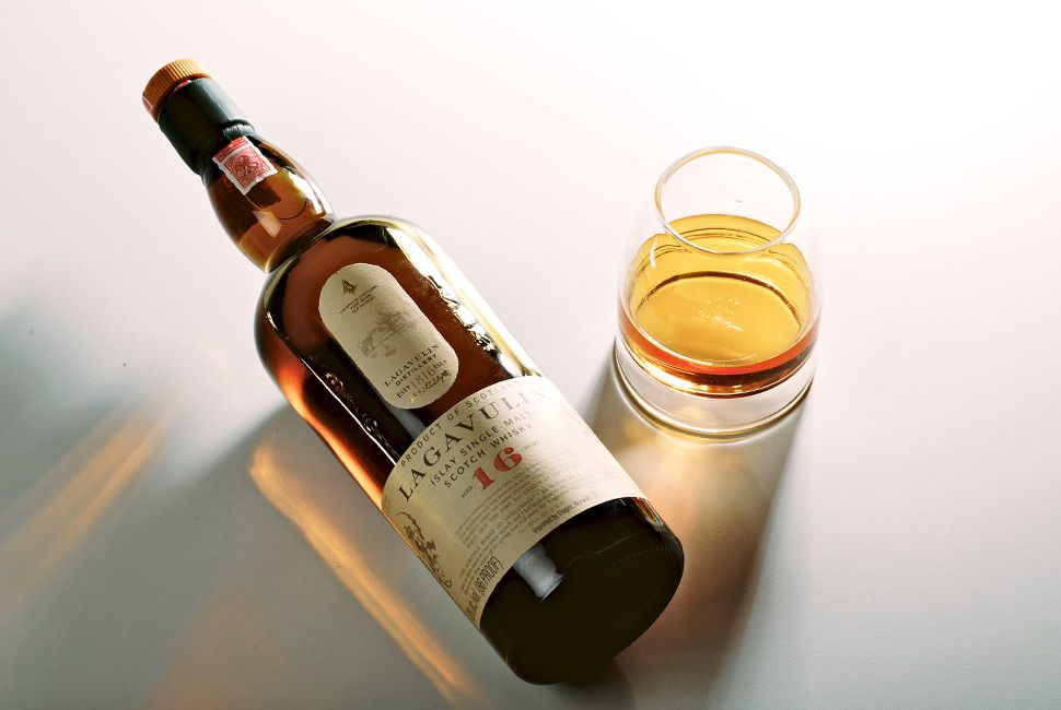 Best Scotch Under 100 Lagavulin 16 year gear-patrol