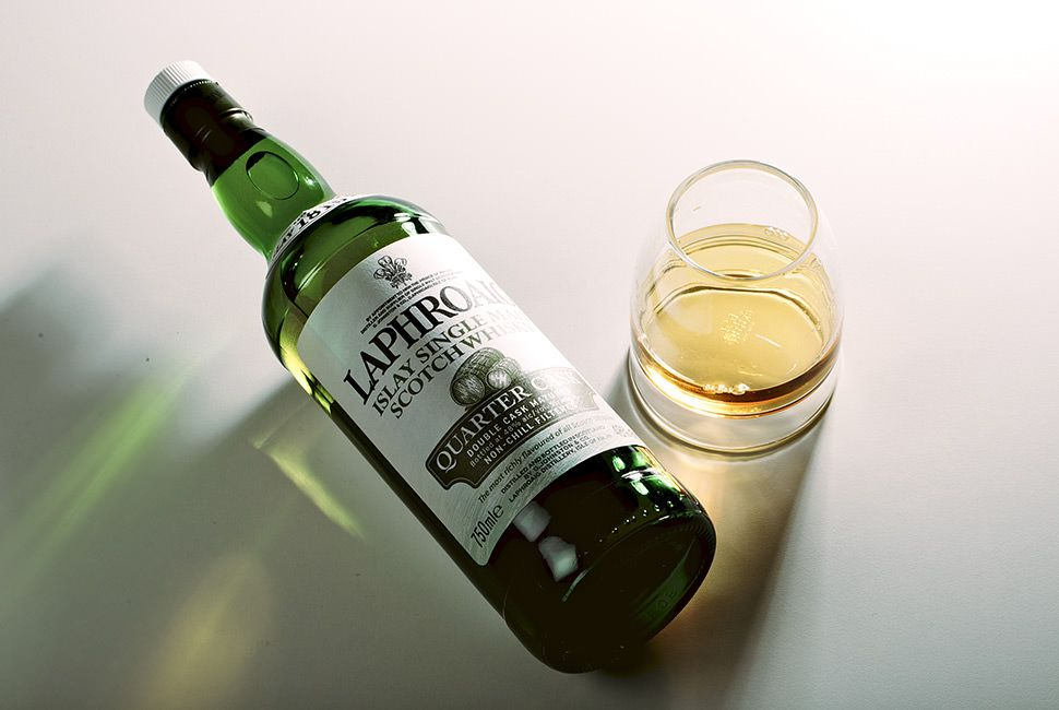 Best Scotch Under 100 Laphroaig 10 year Quarter Cask gear-patrol