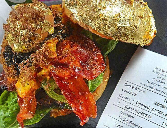 Blame Instagram for the $1,700 Gold-Leaf Burger