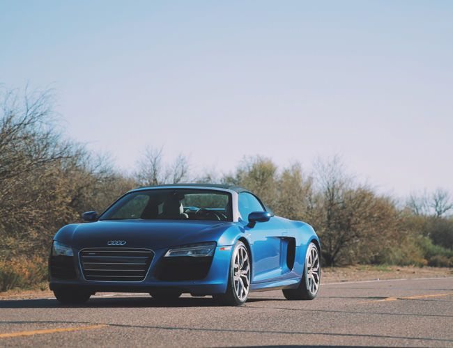 an Open Top Farewell to the Audi R8