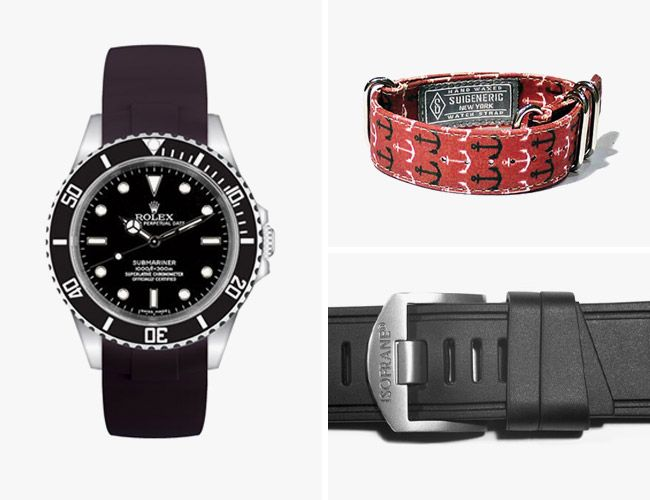 5 Watch Straps to Beat the Heat