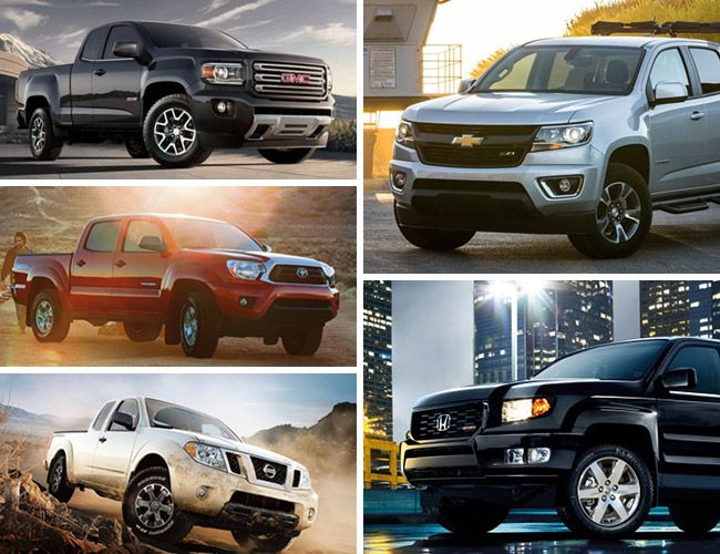 5 best mid size pickup trucks gear patrol. Black Bedroom Furniture Sets. Home Design Ideas