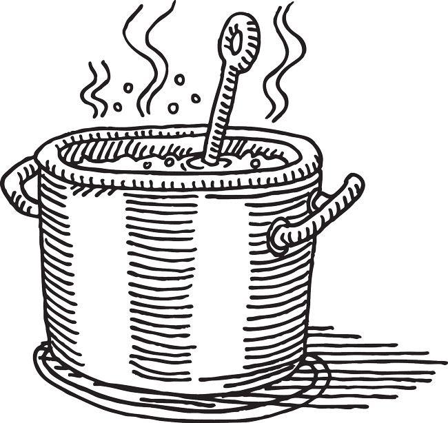 Saucepan Drawing