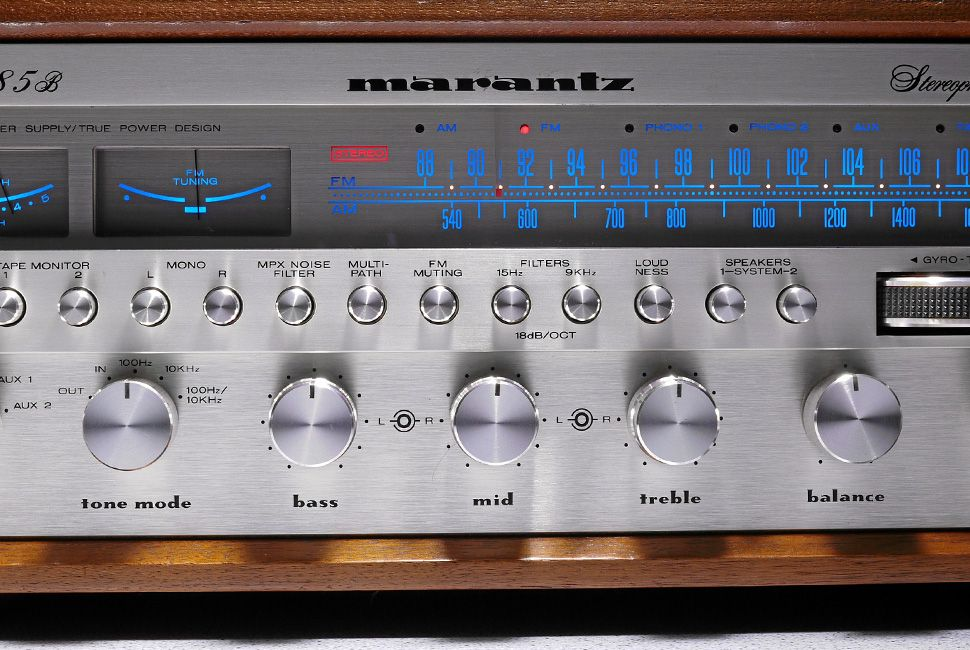 Marantz 2285B Stereo Receiver (1977) All Rights Reserved
