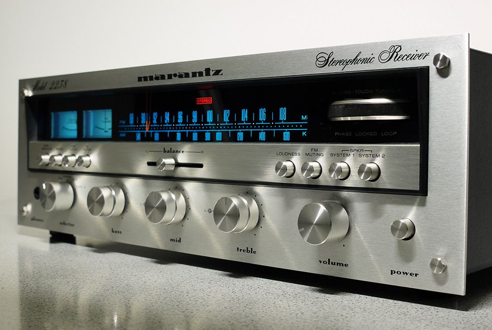 Marantz 2270 Stereo Receiver (1971) All Rights Reserved