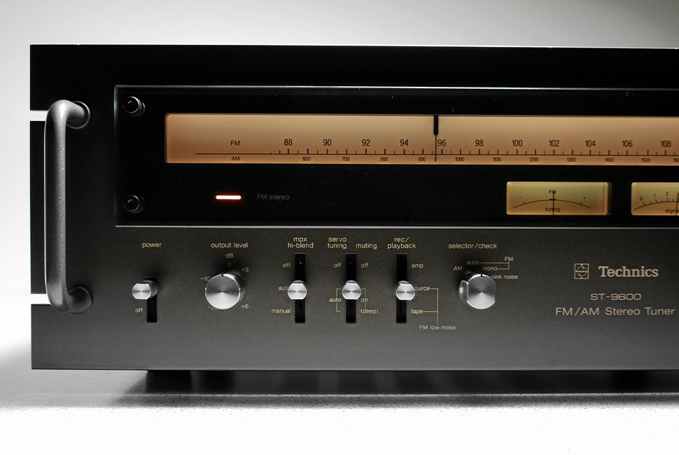 Technics ST 9600 Stereo Tuner (1976) All Rights Reserved