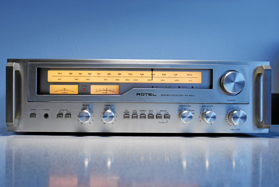 Rotel RX 603 Stereo Receiver (1977) All Rights Reserved