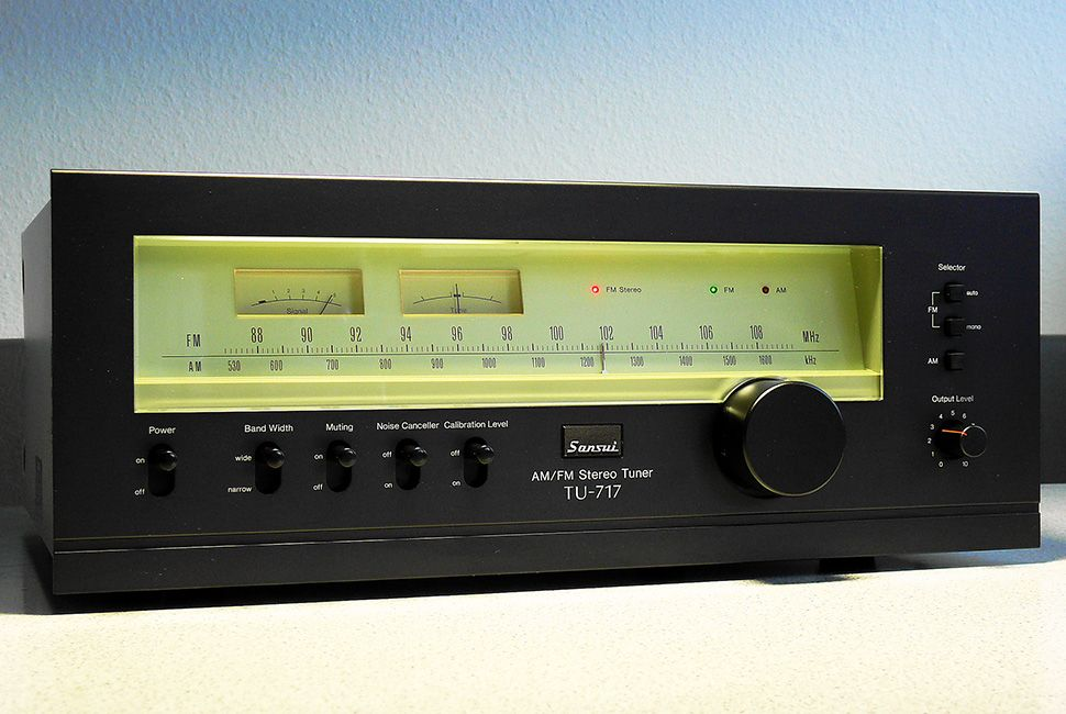 Sansui TU 717 Stereo Tuner (1978) All Rights Reserved
