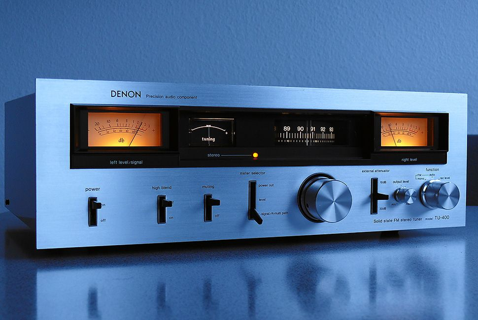 Denon TU 400 Stereo Tuner (1977 - 1978) All Rights Reserved