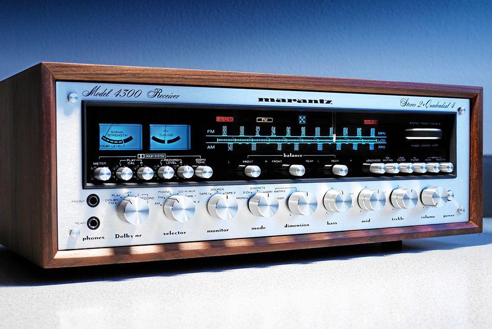 Marantz 4300 Quadrophonic Receiver (1973)
