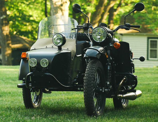 A Near-Death Ride in a Soviet Ural Motorcycle