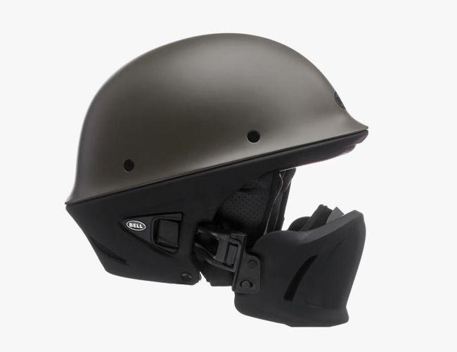 Cafe Racer Style Full Face Helmet