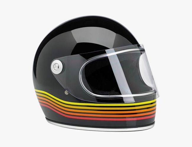 Vintage Style Motorcycle Helmet 2