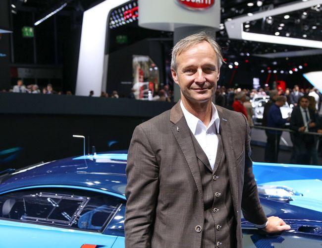 Bugatti Director of Design Achim Anscheidt.