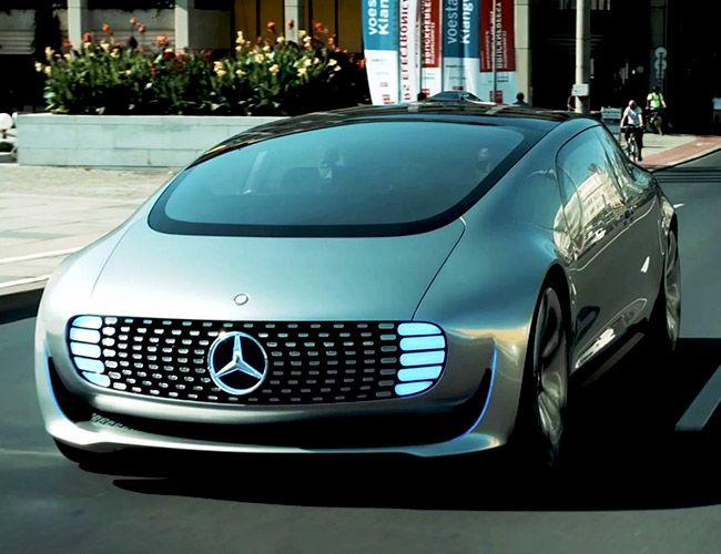 Video Mercedes Benz Self Driving Car Gear Patrol