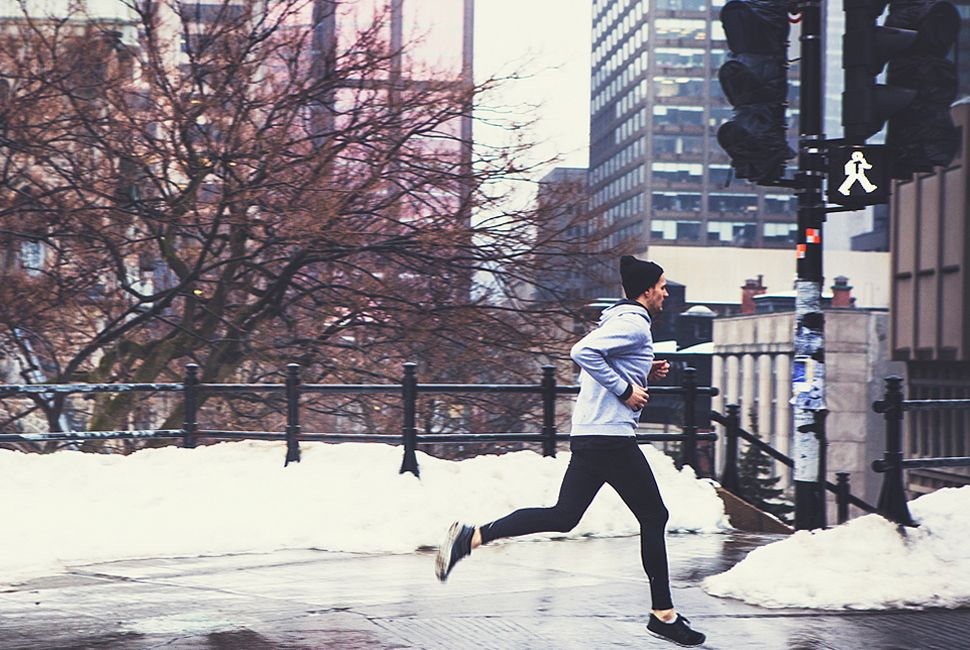 Running. Articles. Your Guide to Winter Running Gear. Your Guide to Winter Running Gear. If you wear too much cotton while running, your clothing can become cold and wet. This is a great way to get hypothermia. Tights are the single most versatile piece of clothing in your winter running arsenal. They are thin enough to keep you cool in.