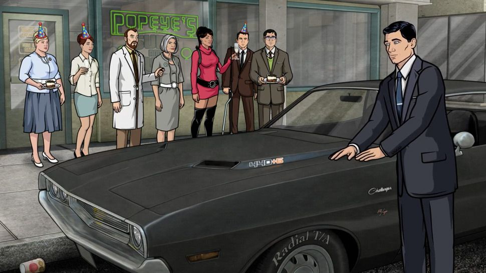 A Visual Survey of the Cars in FX's Archer - Gear Patrol