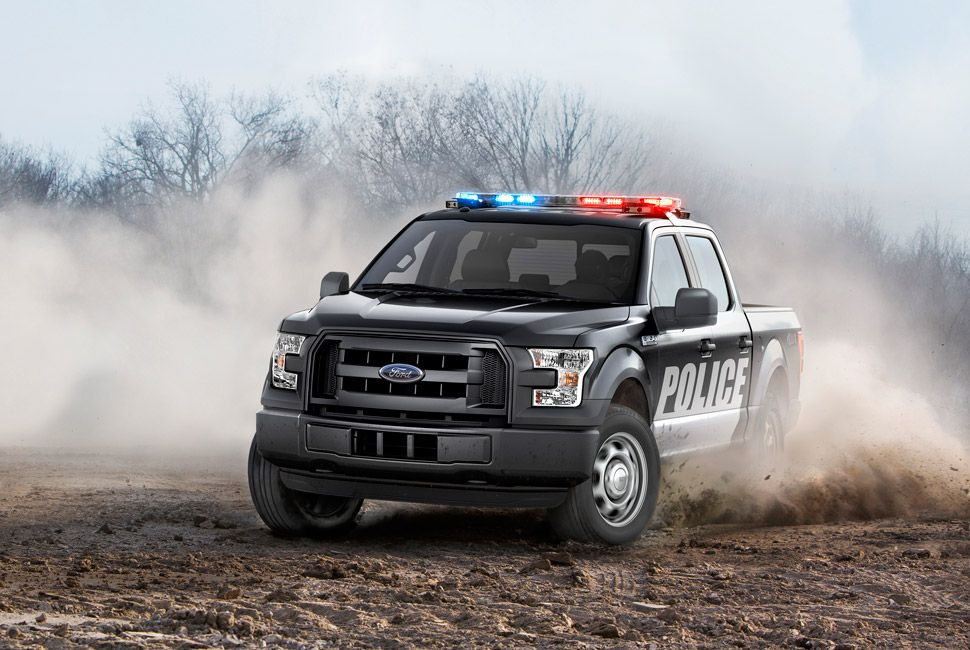 2016 F-150 Special Service Vehicle package