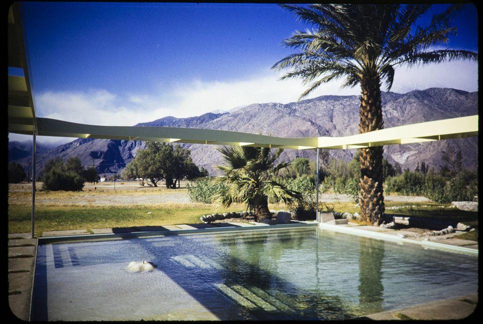 The Frey residence in Palm Springs, 1948. Designed by John Porter Clark and Albert Frey.