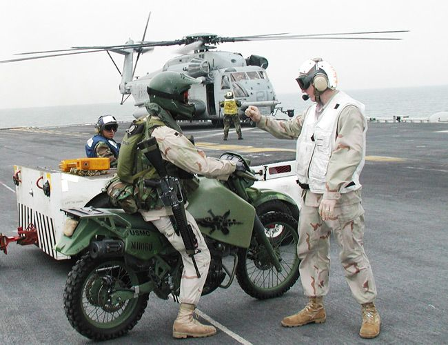 5 Iconic American Military Motorcycles