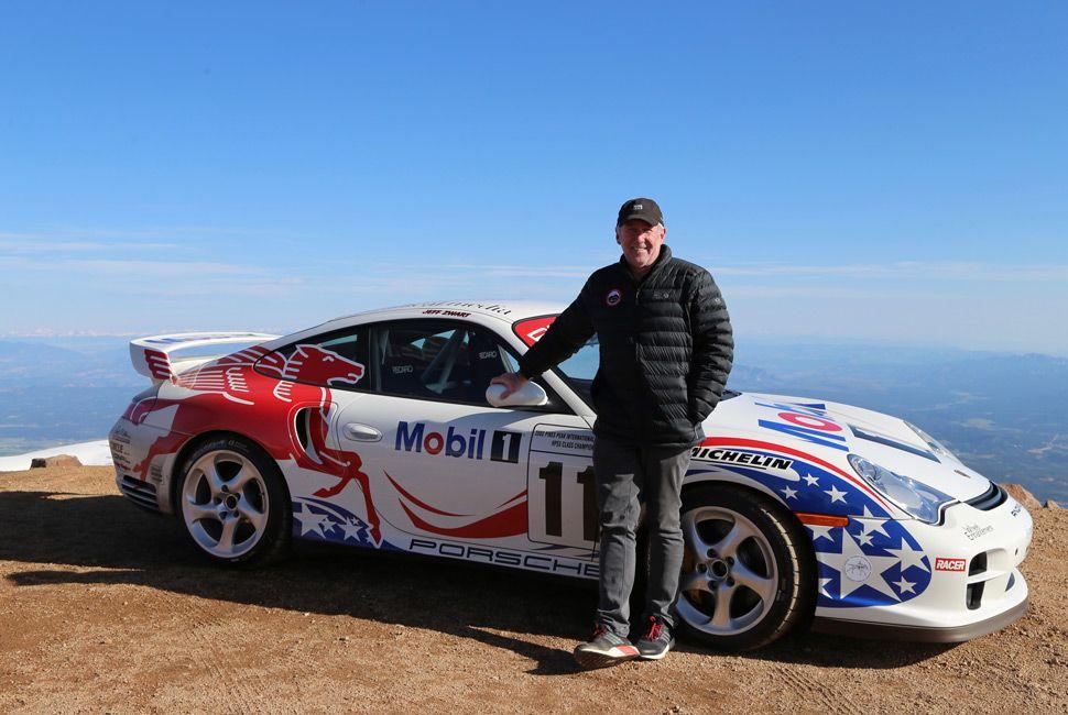 Jeff Zwart, Pikes Peak racing champion and an absolute joy of a man.