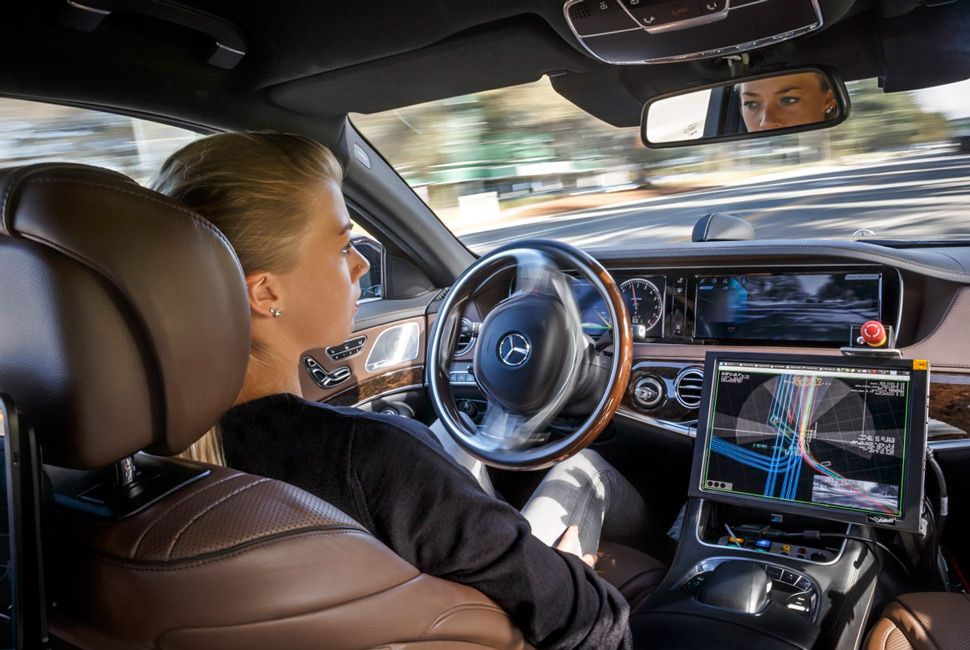 Though the current E and S-Class only offer assisted, semi-autonomous driving it's no secret that Mercedes-Benz is perfecting their fully autonomous tech.