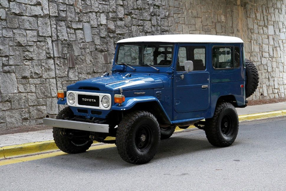 5 Classic Land Cruisers Ready For New Homes Gear Patrol
