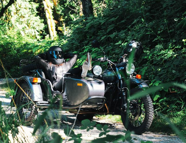 A Man, His Wife and a Sidecar Adventure