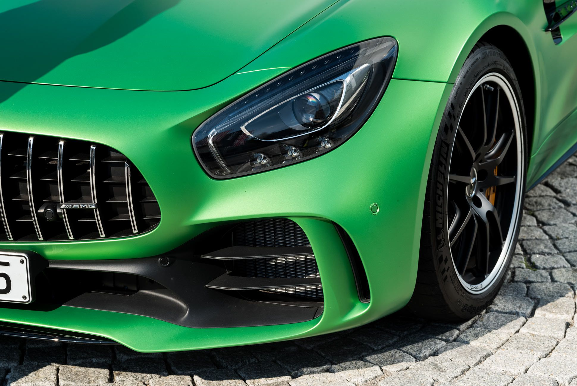 The Mercedes-AMG GT R (like the SLS before it) is as close as you'll get to a fully AMG-designed car.