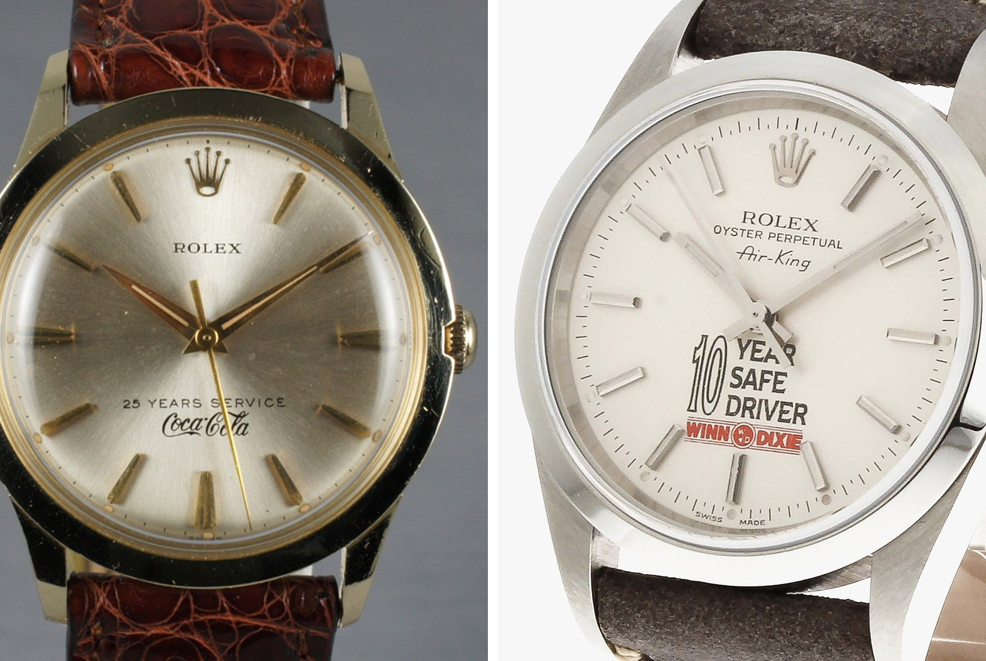 Other exercises in horological employee rewards? The Coca-Cola and Winn-Dixie dials.