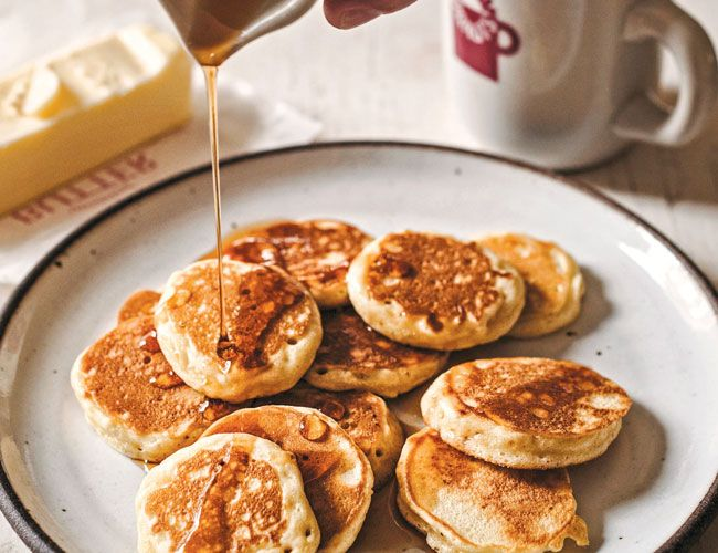 Your New Weekend Recipe: Silver Dollar Pancakes