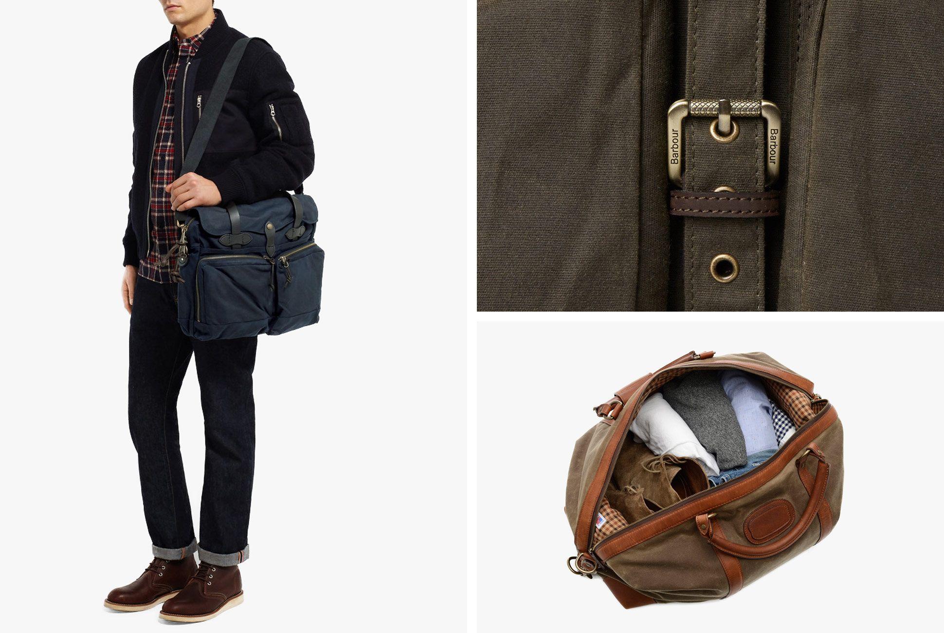 Best Waxed Canvas Bags For Men Gear Patrol