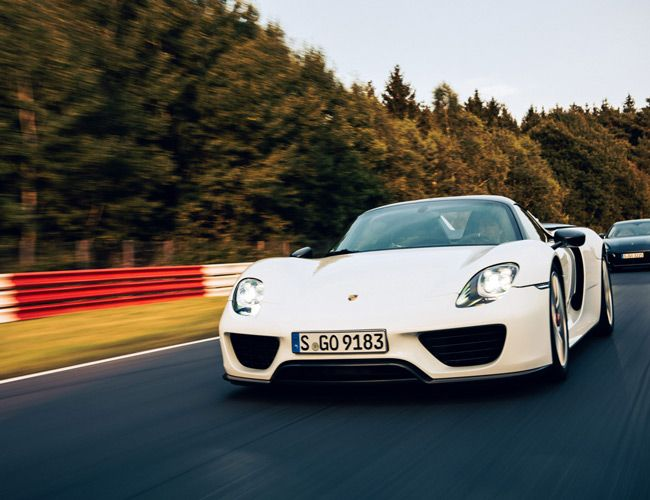 The Nürburgring Nordschleife Race Track: a Story of Porsches Setting Records