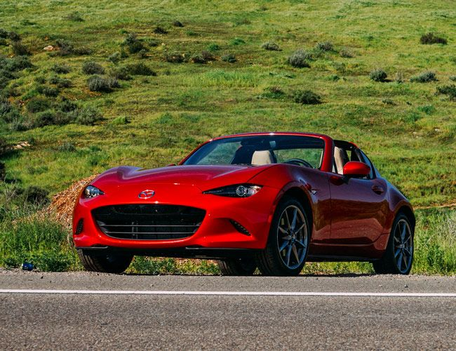 Meet the Mazda Miata's All-New Evil Twin: the RF