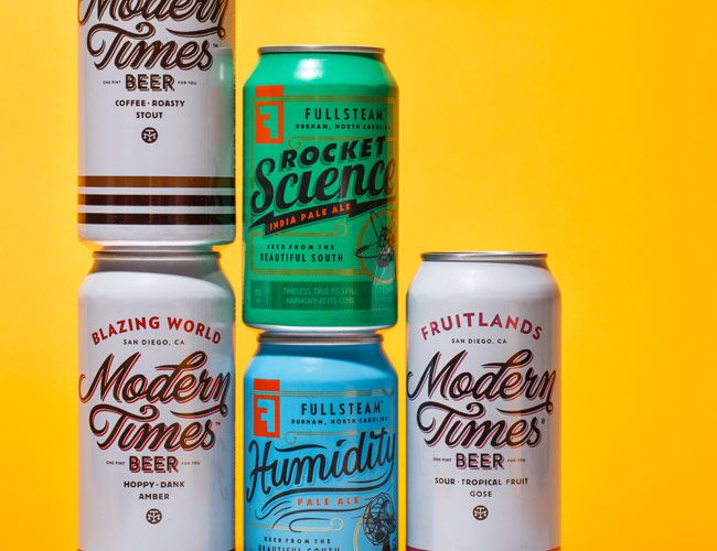 How Craft Beer Turned the Can into a Canvas