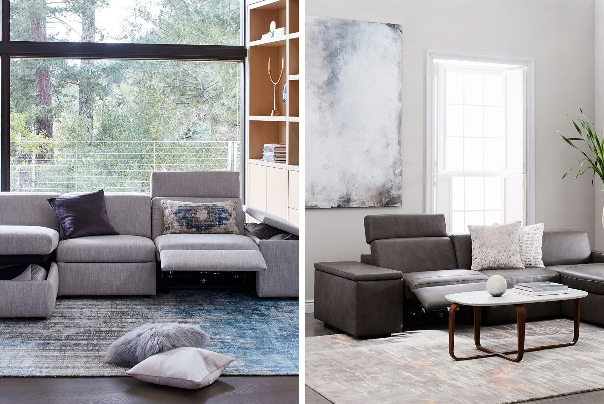 Sensational West Elms New Enzo Series Features Recliners And Storage Pabps2019 Chair Design Images Pabps2019Com