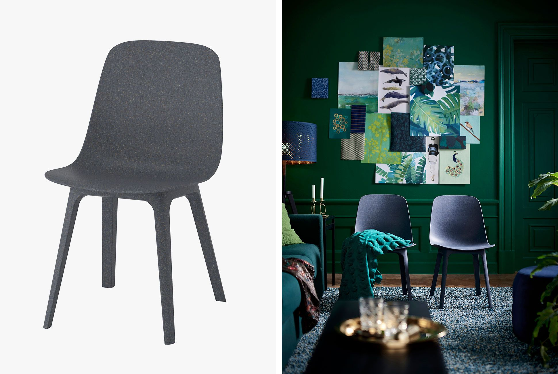 Strange The Ikea Odger Chair Offers Tool Free Assembly Gear Patrol Creativecarmelina Interior Chair Design Creativecarmelinacom