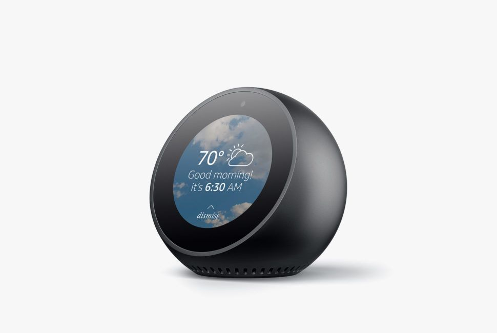 Amazon Announces Echo Spot Security Camera Gear Patrol