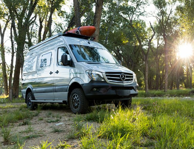 The New Winnebago Revel 4×4 is a Self-Sufficient Mobile Campsite