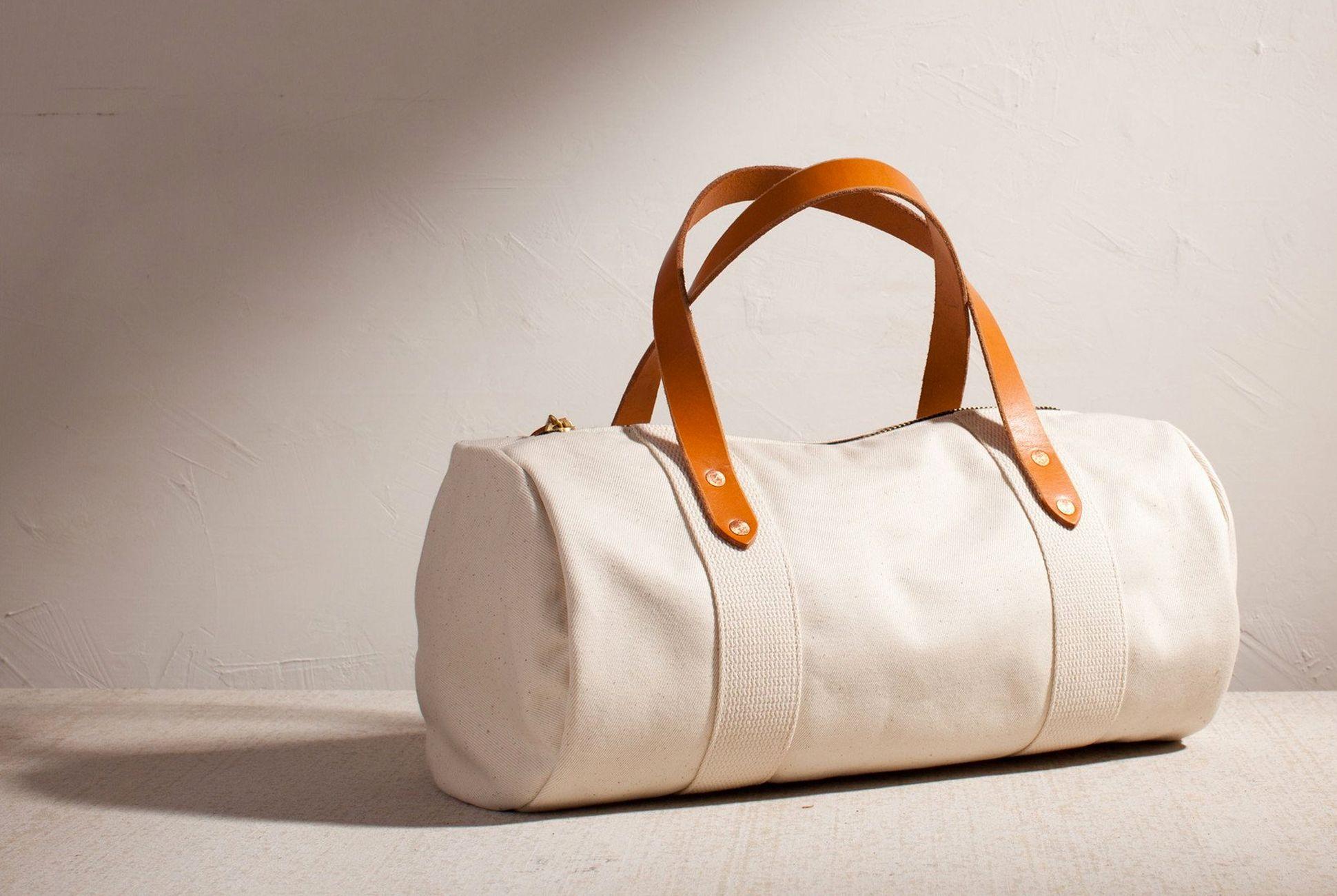 Men Canvas Handbag Travel Shoulder Bag Sport Duffle Luggage Tote Gym Bag Large