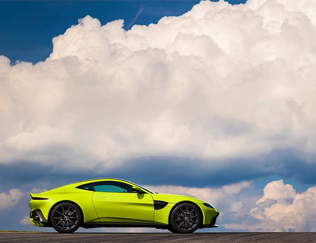 This Is the All-New 2018 Vantage Coupe, and Aston Martin Is Not Screwing Around