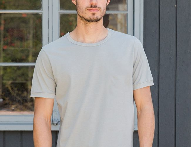 Replace Your White Tees With These Versatile Gray Options