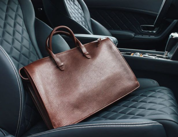 Lotuff's Extraordinary Leather Bags Are Made to Last a Lifetime (or Two)