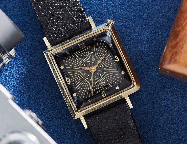 Deck Your Wrist with These Quirky Mid-Century Watches from Hamilton