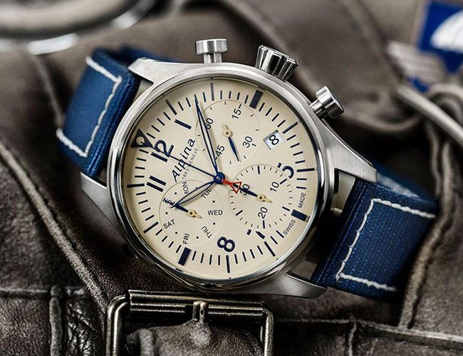 Alpina Debuts a Handsome, Entry-Level Pilot's Chronograph