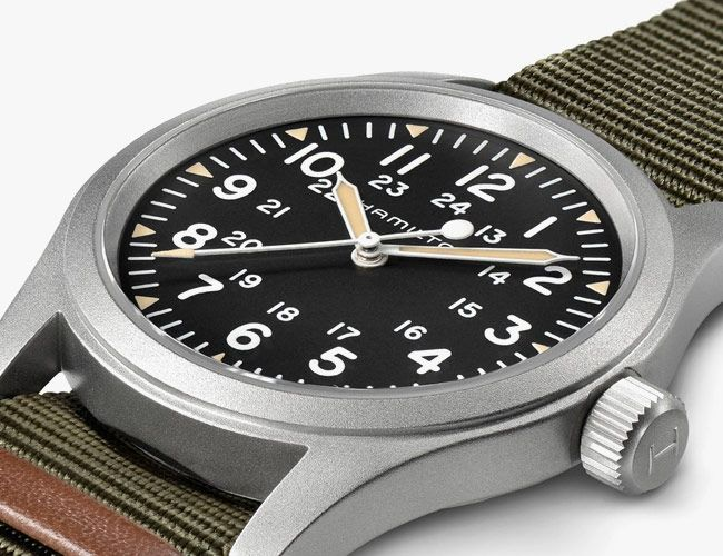 This Hamilton Reissue Has All the Markings of a Perfect Field Watch